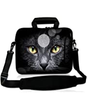 """ToLuLu®Cat~s Eye 9.7"""" 10"""" 10.2"""" inch Laptop Netbook Tablet Shoulder Case Carrying Sleeve bag For Apple iPad/Asus EeePC/Acer Aspire one/Dell inspiron mini/Samsung N145/Lenovo S205 S10/HP Touchpad Mini 210"""