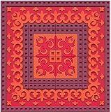 Images d'Orient Coasters, Sejjadeh Zen Feu, Set of 2