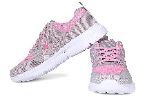 Shoes SX0126 Grey Pink UK-4 at Amazon