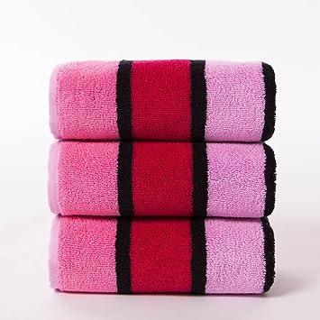 pllp 3 toallas de algodón, modelos masculinos y femeninos adultos parejas en el hogar usan