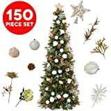 Amazon.com: 9' Christmas Tree Decorating Kits (Victorian ...