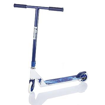 jd bug pro t bar fixed run fast model stunt scooter blue white, 5jd bug pro t bar fixed run fast model stunt scooter blue white,