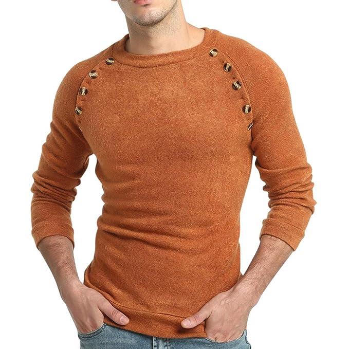 Suéter de otoño Invierno Jersey Pullover Jumper Knitwear Outwear Blusa por Internet.