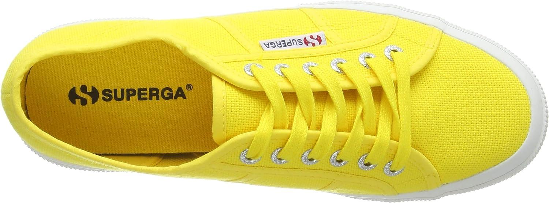 Superga Men's Low Trainers Yellow (Sunflower)