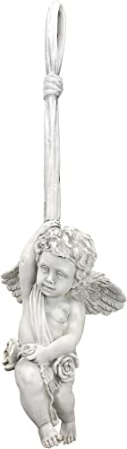 Design Toscano OS69496 Angelic Play Hanging Statue Size: Large,Antique Stone