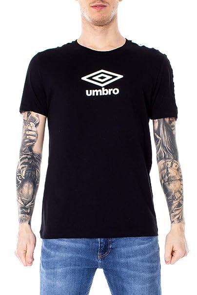 reputable site 74db7 c8142 Umbro T-Shirt Uomo M Nero 19etpu0170 Primavera Estate 2019 ...