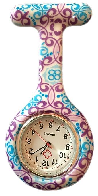 16 opinioni per Boolavard® TM Orologio da infermiere in silicone con spilla- orologio tascabile