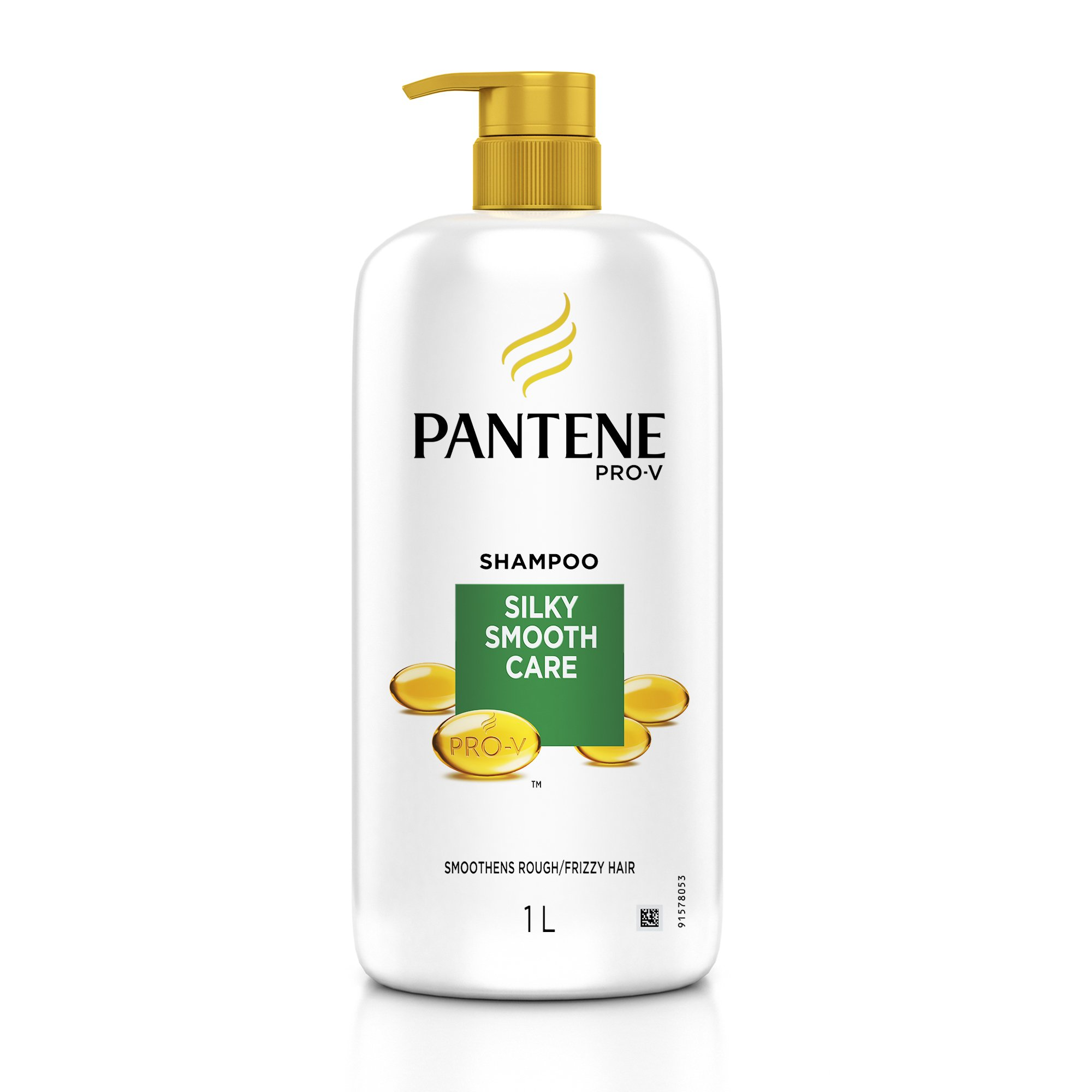 Pantene Silky Smooth Care Shampoo, 1L product image