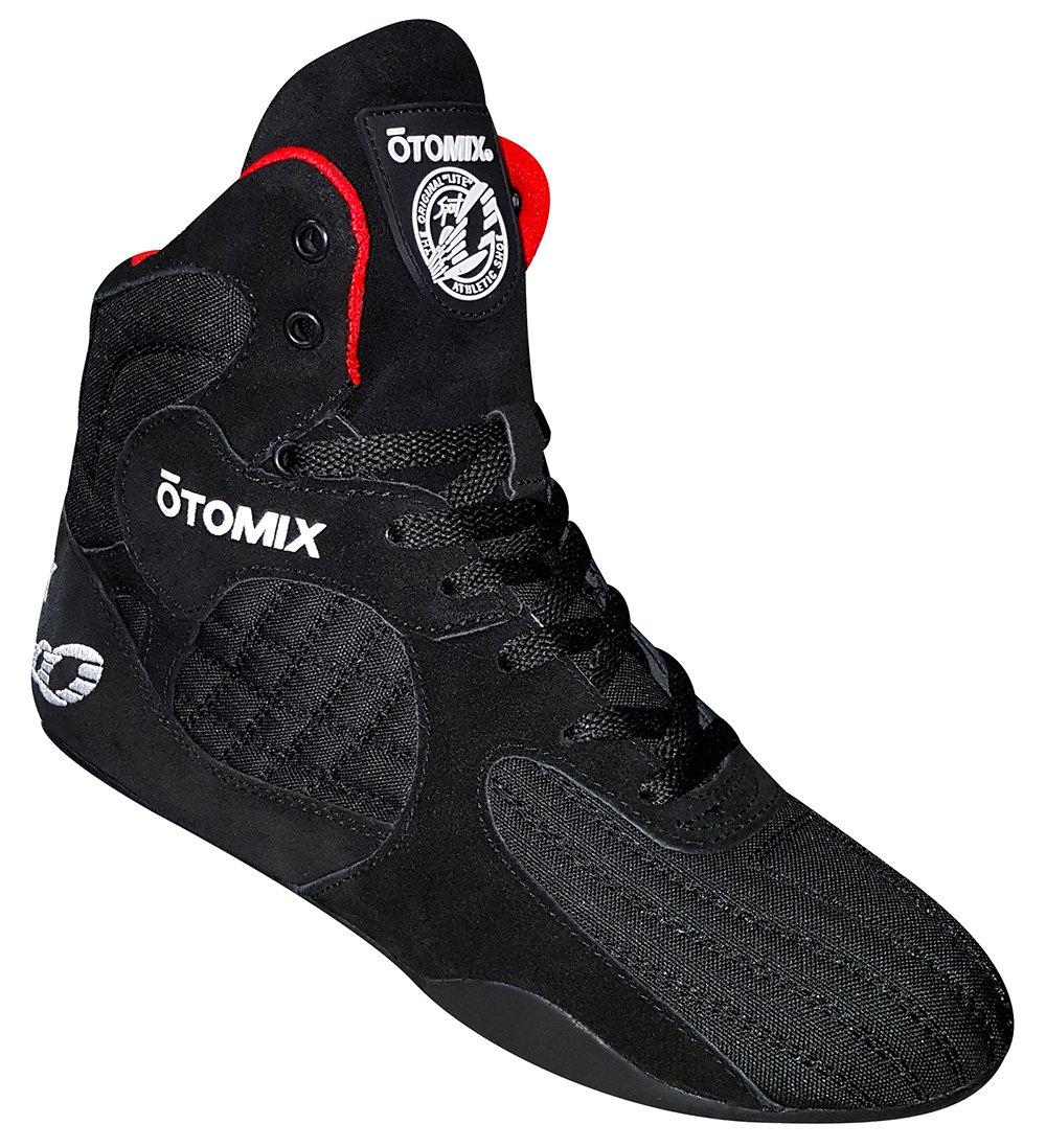 Otomix Men's Stingray Escape Bodybuilding Lifting MMA & Wrestling Shoes Black 15 by Otomix