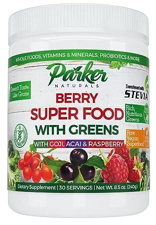 Amazon.com: Suplemento alimenticio de baya verde, baya de ...