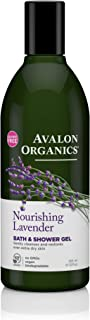 product image for Avalon Organics Bath & Shower Gel Nourishing Lavender, 12 oz