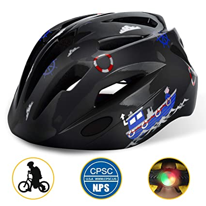 Basecamp Kids Bike Helmet, Children Multi-Sport Cycling Helmet CPC&CE  Certified 3D Cartoon Infant/Toddler Helmet for Boys and Girls  Riding/Skating