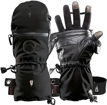 "Heat 3 Smart Gloves (Black) X Small Size 7 (6.75""-7.25"")"
