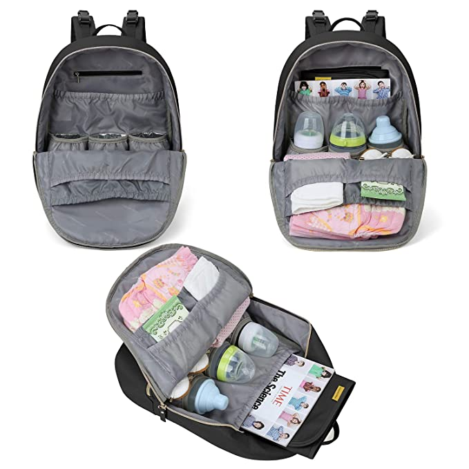 Amazon.com: Mommore - Mochila para pañales de viaje con ...