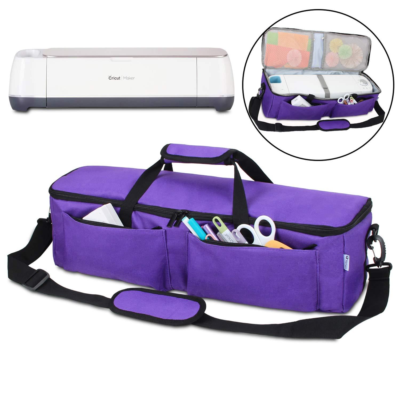f070a3d21de3 Yarwo Carrying Bag for Cricut Explore Air (Air 2), Cricut Maker, Tote Bag  Travel Bag Compatible with Cricut Explore Accessories and Supplies, Dark ...