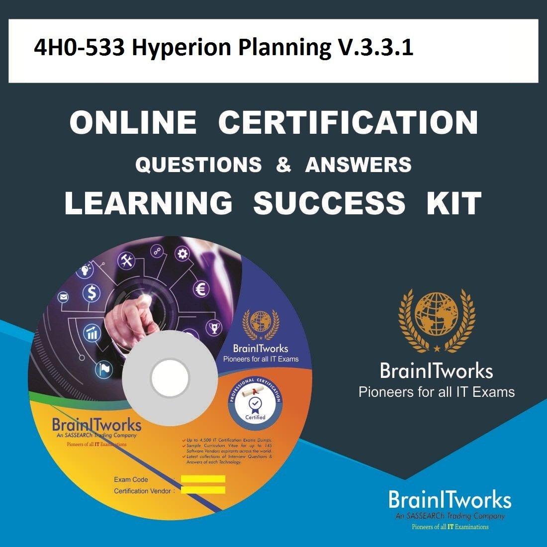 4h0 533 Hyperion Planning V331 Online Certification Learning Made