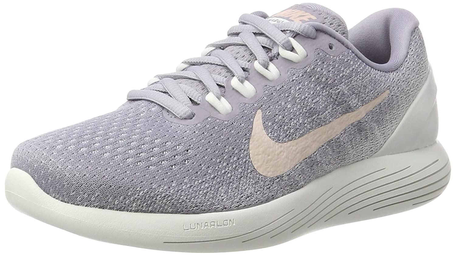 NIKE Women's Lunarglide 9 Running Shoe B002EAFO8W 6 B(M) US|Provence Purple/Sunset Tint
