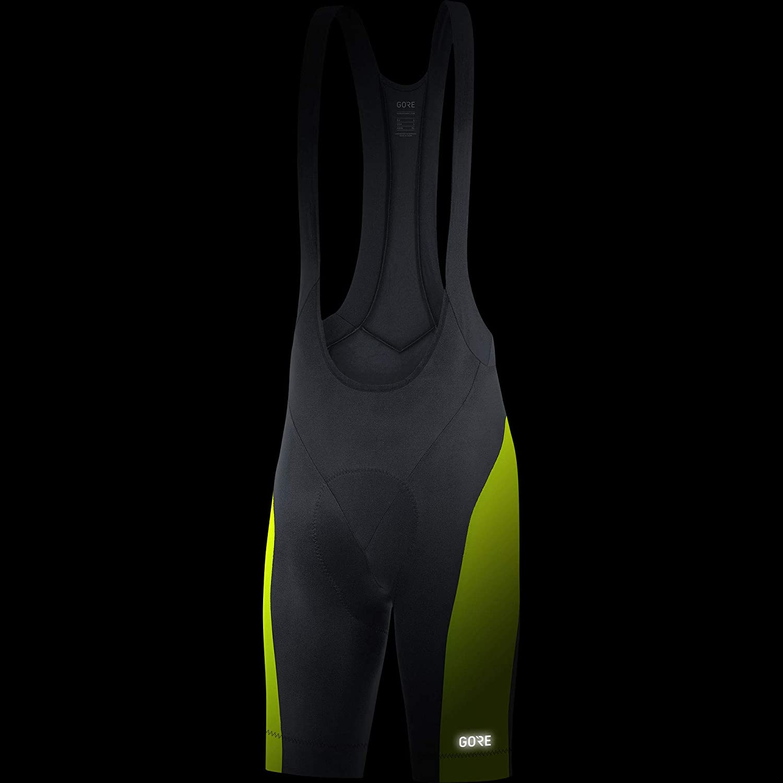 GORE WEAR C3 Mens Short Cycling Bib Shorts with Seat Insert