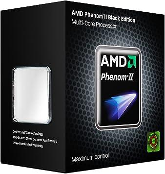 Amazon Com Amd Cpu Hdz955fbgmbox Phenom Ii X4 955 Black Edition 3 2ghz Am3 125w Retail Electronics