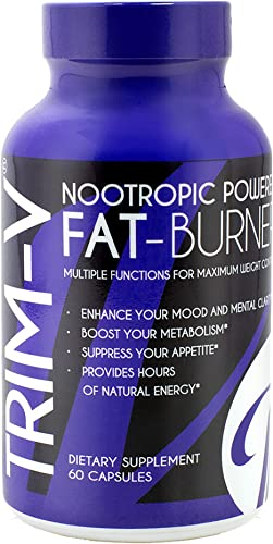 Vanna Belt Nootropic Fat Burning Supplement – Trim-V – 30 Day Supply – Helps Increase Metabolism, Boosts Energy Levels, and Improves Mental Focus – Assists with Appetite Control