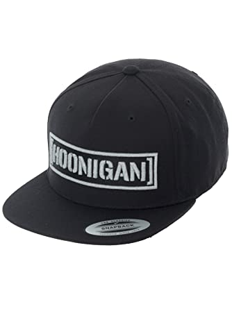 d6998b538 Hoonigan Black-Reflective Censor Bar Snapback Cap: Amazon.co.uk ...
