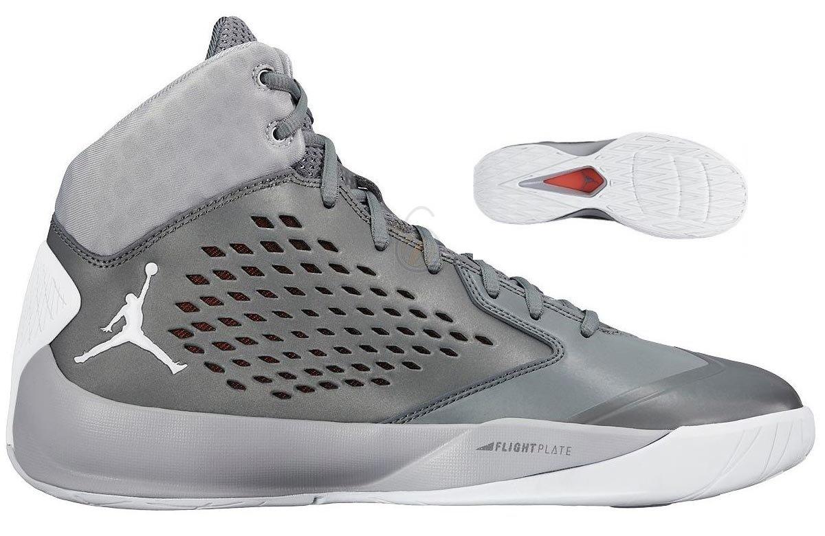 Nike Herren Air Jordan Jordan Jordan Rising High Flight Speed Basketball-Schuh Flywire, Wolf, grau weiß, Größe 10.5 (US) fd1a5b