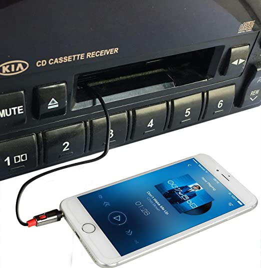 Amazon.com: digitnow adaptador Cassette de coche Audio de ...