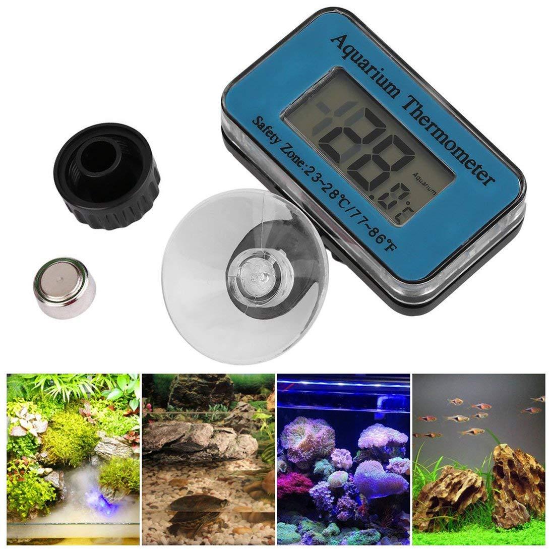 ToGames 1 unid Digital sumergible pecera acuario LCD term/ómetro medidor de temperatura env/ío gratis