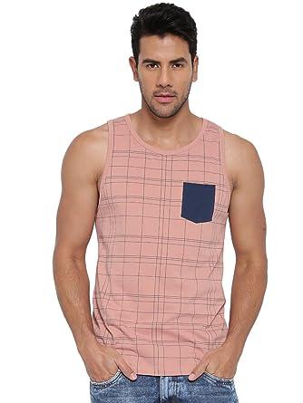 Cult Fiction Light Pink color Round Neck Comfort Fit Cotton T ...