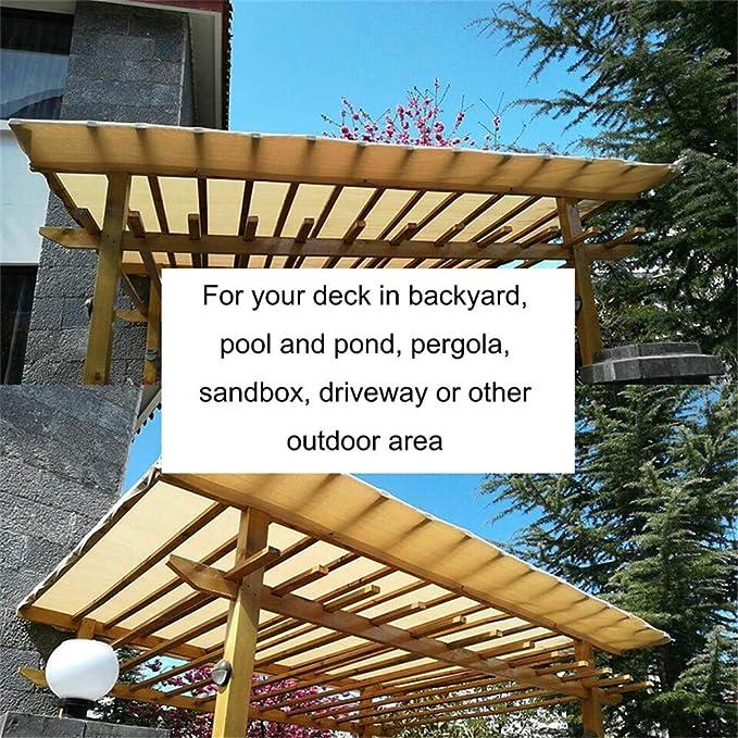 Flowing water Sun-Block Mesh 90% Anti-UV Cubierta de pérgola Canopy Sail Taped Edge con Ojales para Cobertura Vegetal, Invernadero, Panel de Calidad de Tela de Sombra Superior,1m×3m: Amazon.es: Hogar