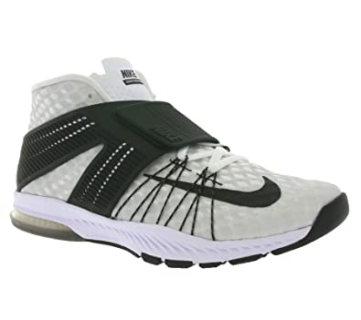 06e5f24700dee Nike Men's Zoom Train Toranada TB Ankle-High Cross Trainer Shoe (10 D(M)  US, White/Black)