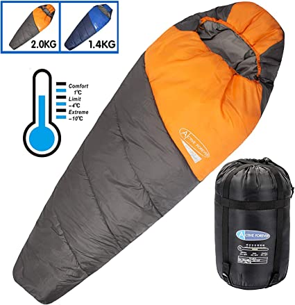 Sac de couchage Compression Sac Portable Camping Sac de rangement Carry Pack Sleeping