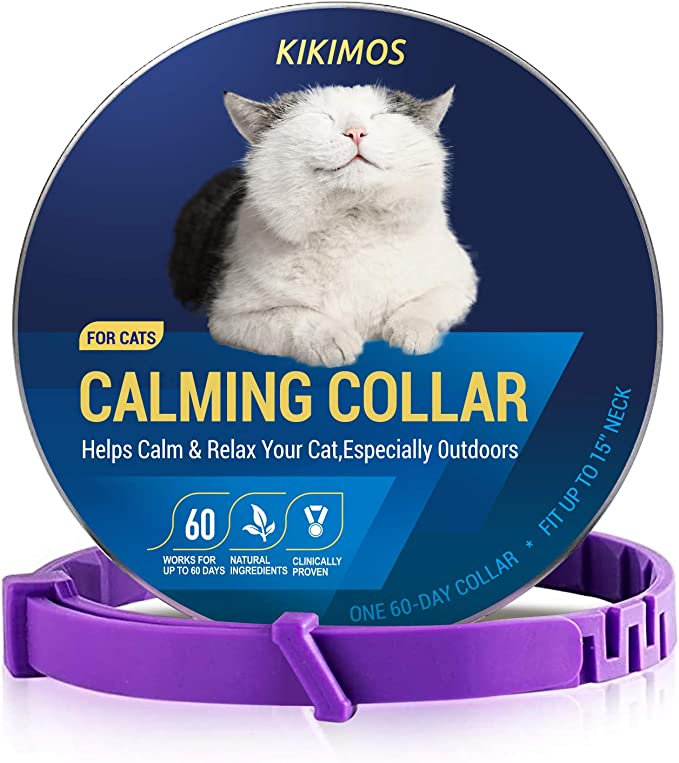 Flea and Claw Collar Adjustable Length for Small Medium Large Dogs MENGZF Anti-Parasitic Collar for Dogs and Cats, Water Resistant 2 Pieces 8 Months Protection