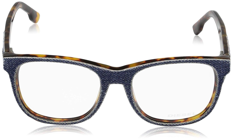 Blau Diesel Unisex-Erwachsene Optical Frame Dl5124 053 52 Brillengestelle