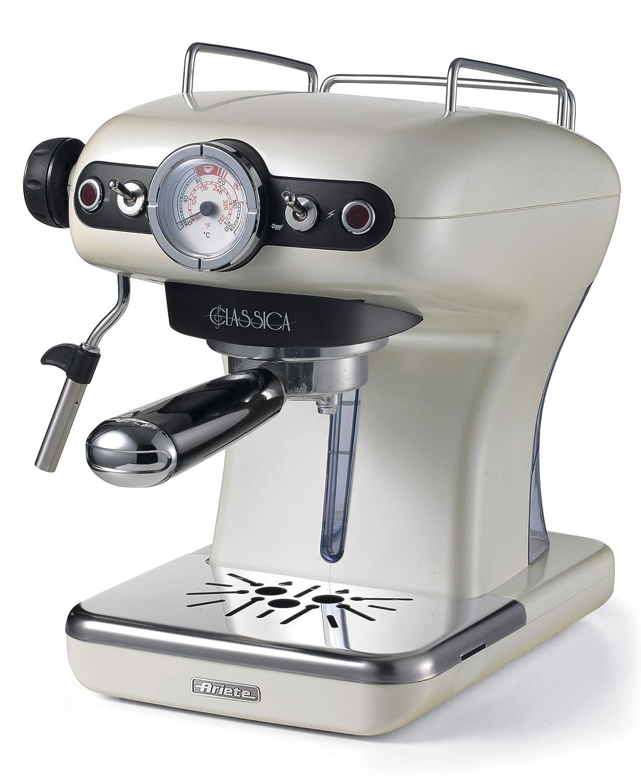 Ariete 1390 Clásica de café Espresso, 850 W, Perla