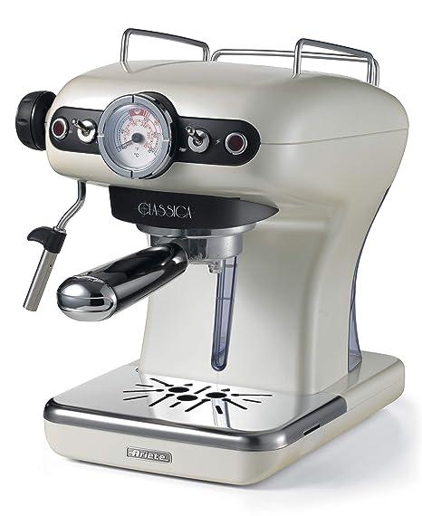 Ariete 1390 Clásica de café Espresso, 850 W, Perla: Amazon.es: Hogar