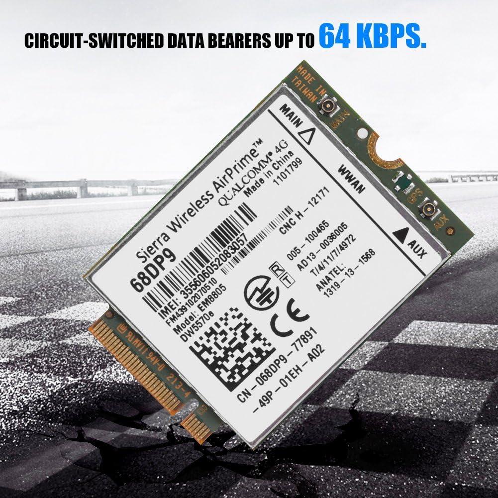 Sanpyl WWAN Card Network Card Module NGFF//M.2 Network Card Module EM8805 3G 4G WWAN Card DW5570E DC-HSPA HSDPA HSUPA WCDMA HSPA