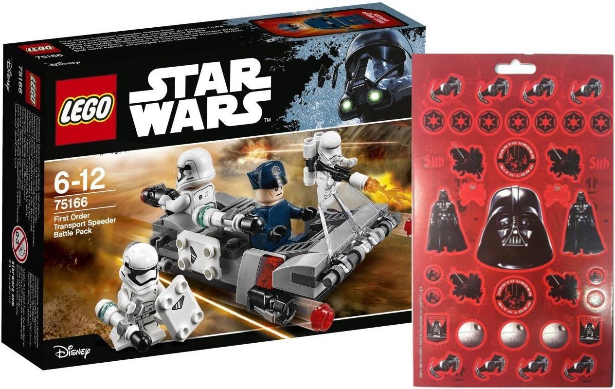 LEGO 75166 STAR WARS - Batalla Pack - First Order transporte ...