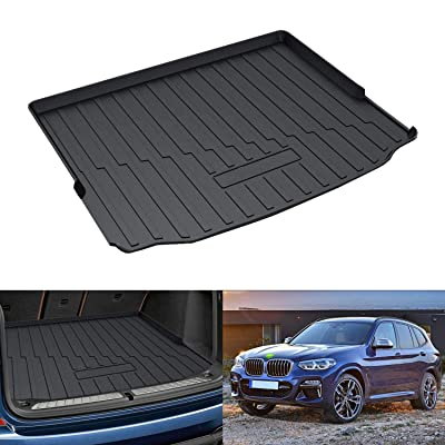 Powerty Trunk Mat All Weather TPO Rear Cargo Liner for BMW G01 X3 2020 2020 2020: Automotive