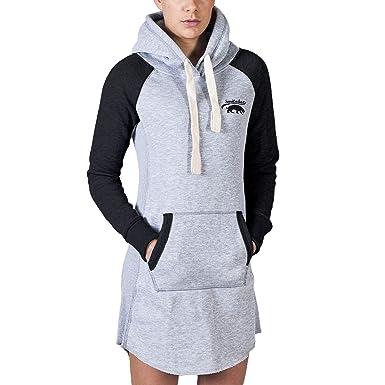 028c51ecbc36a6 SMILODOX Longpullover Damen | Hoodie für Sport Fitness & Freizeit |  Oversize Kapuzenpullover | Pullover - Sportpullover - Sweatshirt - Pulli -  Langarmshirt ...