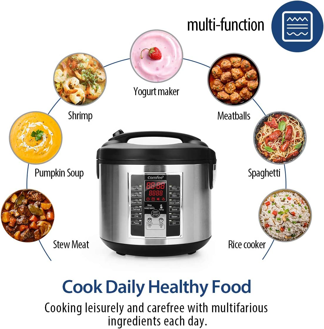 Electric pressure cooker / multi-cooker / slow cooker benefits