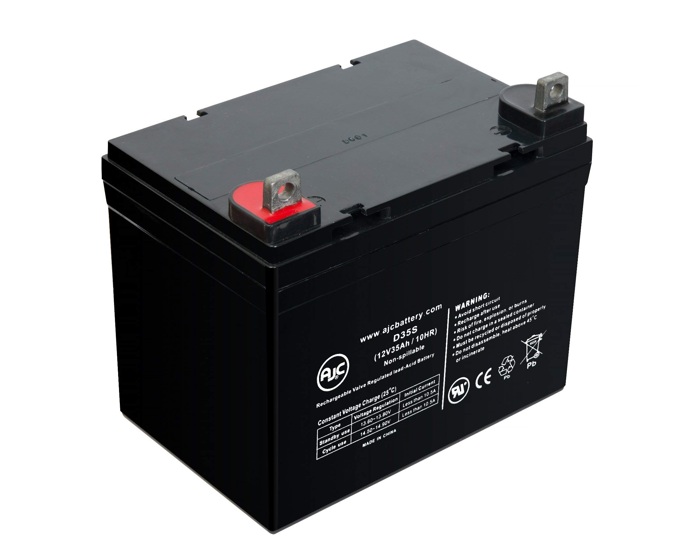 Rhino SLA33-12 FP, SLA33-12FP 12V 35Ah UPS Battery - This is an AJC Brand Replacement by AJC