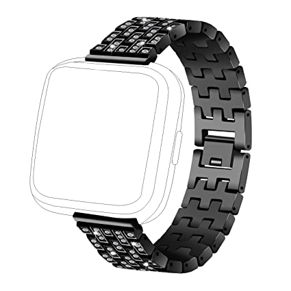 Amazon.com : RuenTech for Fitbit Versa Bands Replacement ...