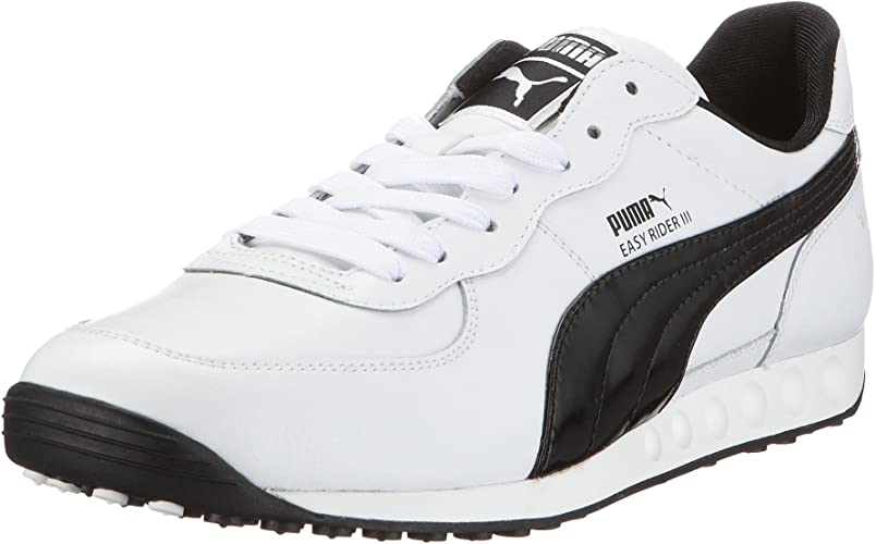 Puma 350160 01 Easy Rider III Leather, Herren Sneaker, Weiss