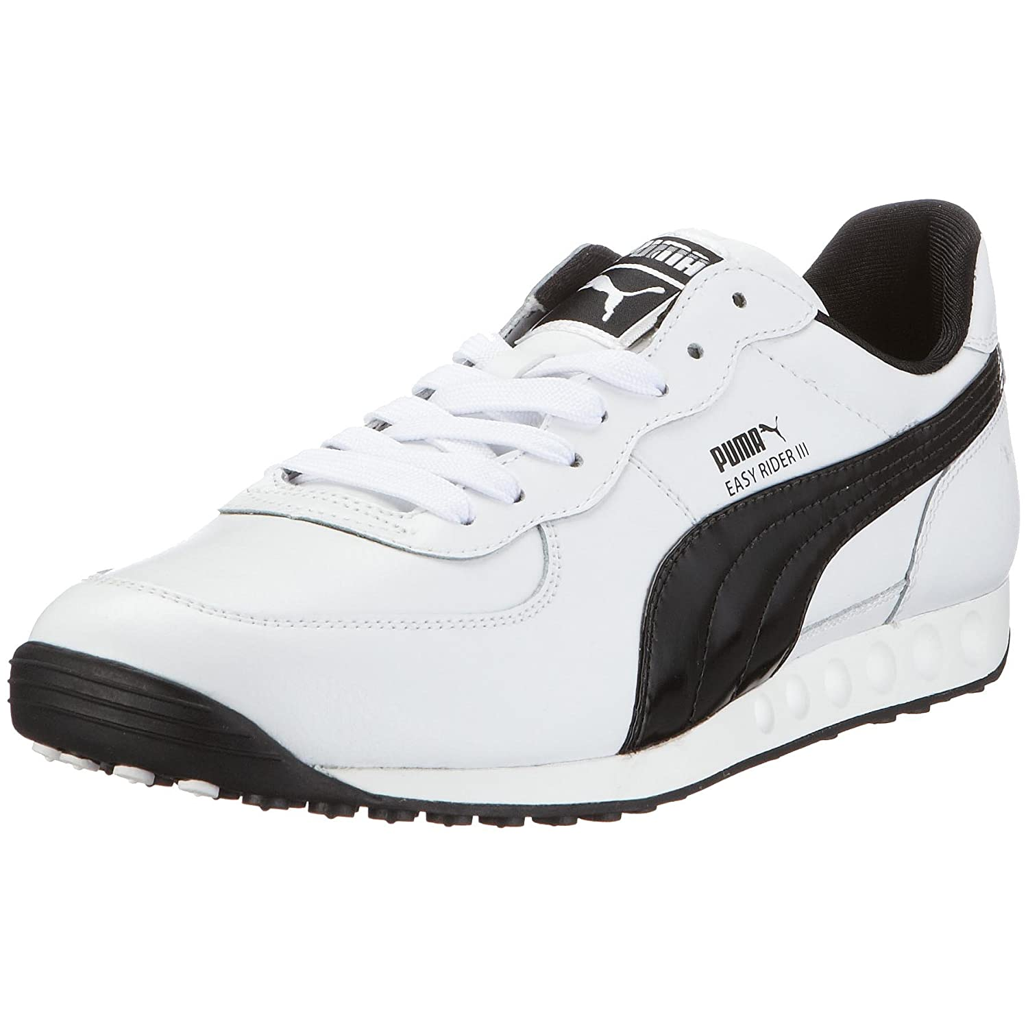 Puma Easy Rider III Leather Mens Trainers 350160 01 White ...