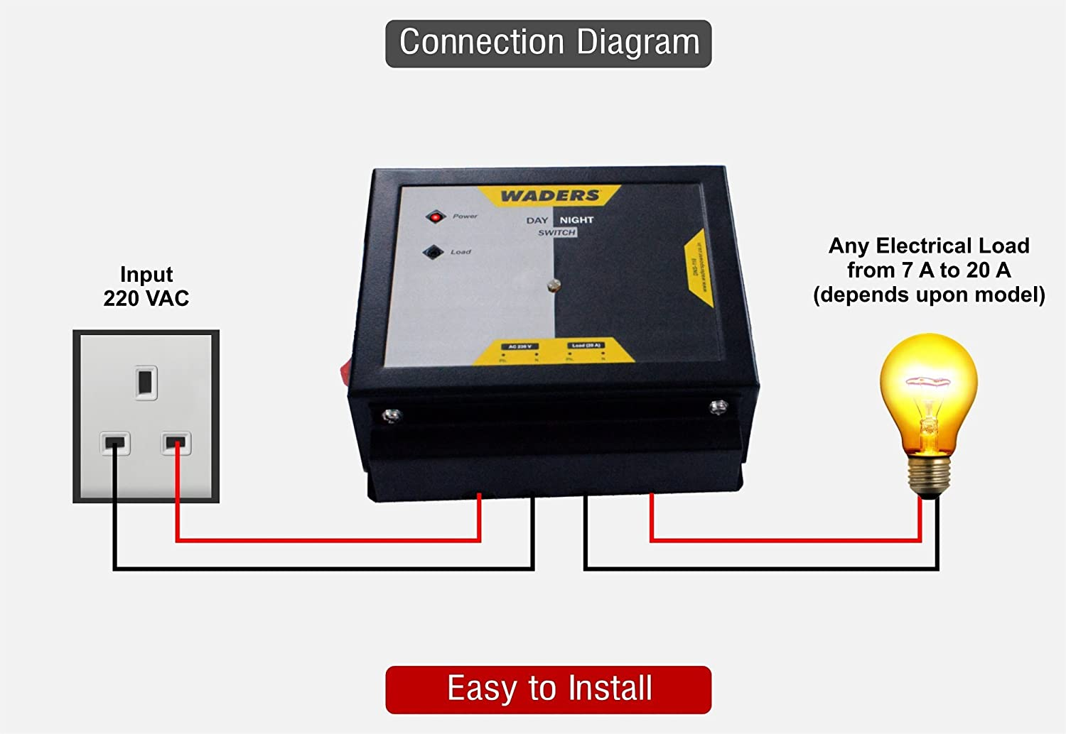 Waders Light Sensor Ldr Based Automatic Day Night Switch For Home Sl 3000 Ul Wiring Diagram Automation Improvement