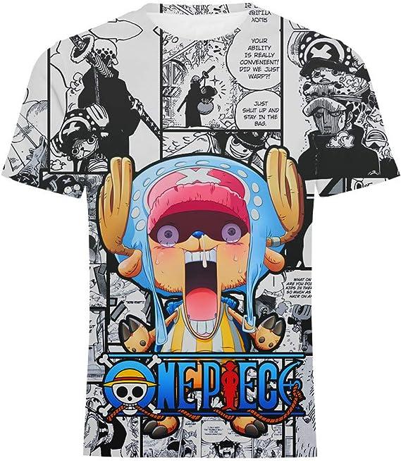 GOYING Camiseta Unisex de Manga Corta One Piece Tony Tony Chopper Contenido: impresión 3D, Otaku, Juegos de rol, cómics, Dibujos Animados: Amazon.es: Ropa y accesorios