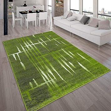 Paco Home Designer Teppich Modern Trendiger Kurzflor Teppich Meliert