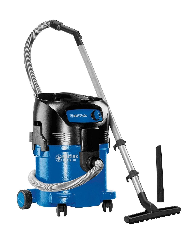 Nilfisk 107413590 - Aspirador en húmedo y seco, 3700 l/min, 30 l, 1500 W, 230 V, color negro y azul: Amazon.es: Industria, empresas y ciencia