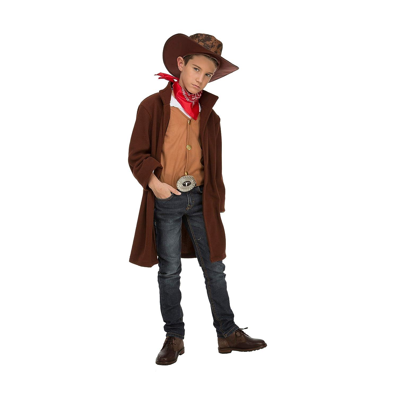 6bb6eac9d1ded My Other Me Me-204253 Disfraz de cowboy para niño 5-6 años Viving Costumes  204253  Amazon.es  Juguetes y juegos